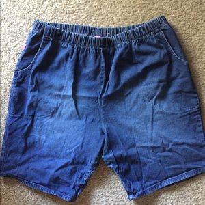 Pants - Women Within Jean Shorts